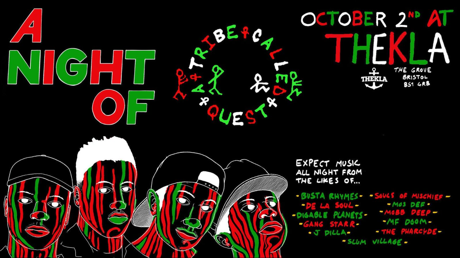 A Night Of A Tribe Called Quest What S On Bristol 24 7