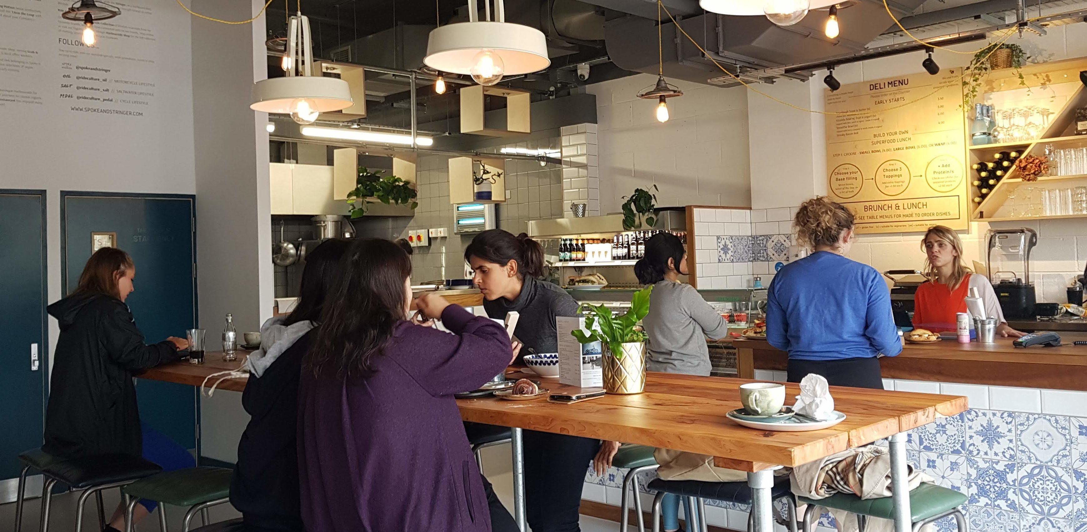 Spoke Stringer Whiteladies Road Cafe Review