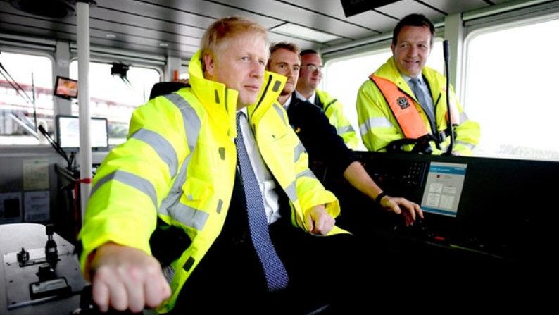 Boris Johnson fails to meet any members of the public in Bristol