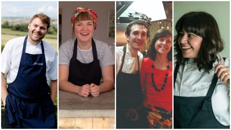 Some of Bristol's top chefs join forces to help feed the homeless