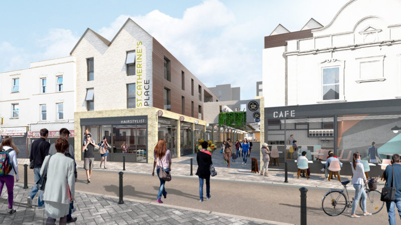 £50m redevelopment plans for St Catherine's place rejected