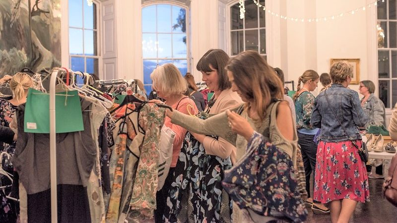 Clothes swap event encourages sustainability