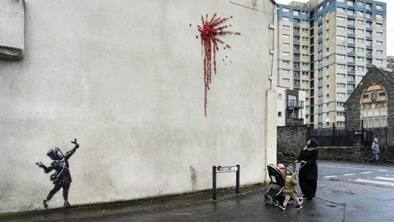 Banksy confirms Barton Hill artwork is his