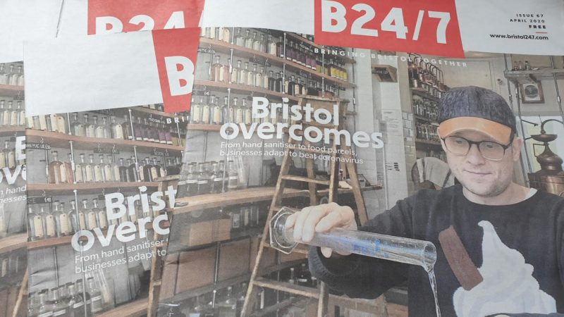Where to pick up April's issue of Bristol24/7 magazine