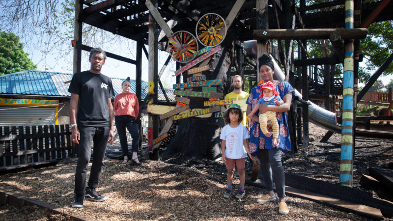 'Inspirational' outpouring of support for St Paul's Adventure Playground