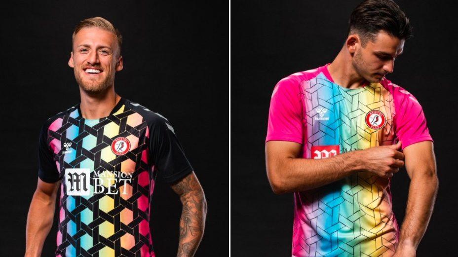 Worldwide reaction to Bristol City's new goalkeeper kits