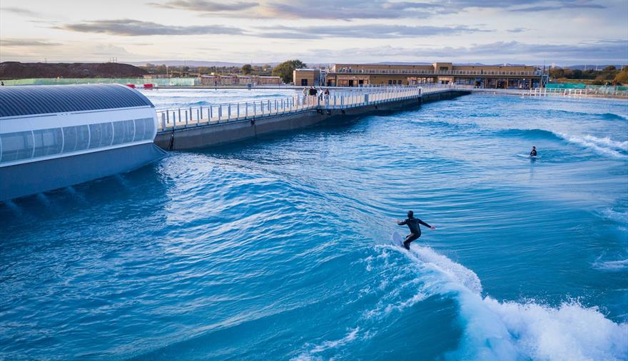 World first as The Wave to host adaptive surfing championships