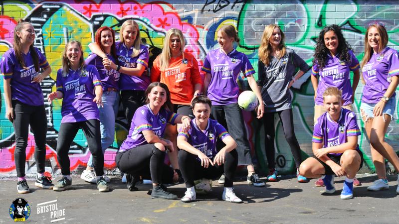 Gas Girls team up with Bristol Pride