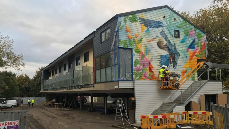 New mural celebrates St George community