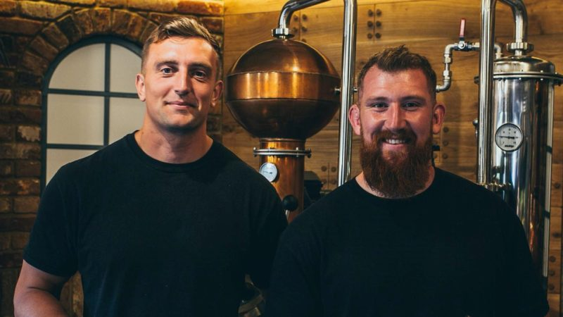 Friends, flatmates and teammates launch new gin